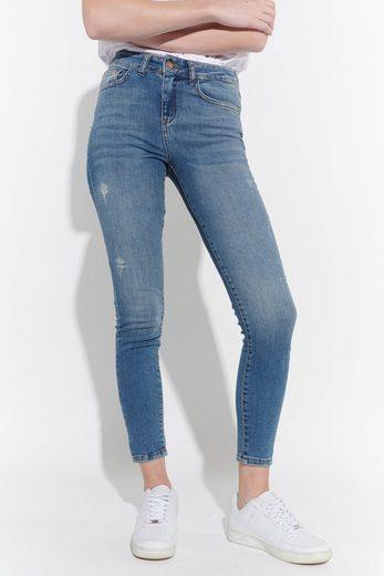 Vestino Skinny-fit-Jeans Skinny Jeans im Used-Look