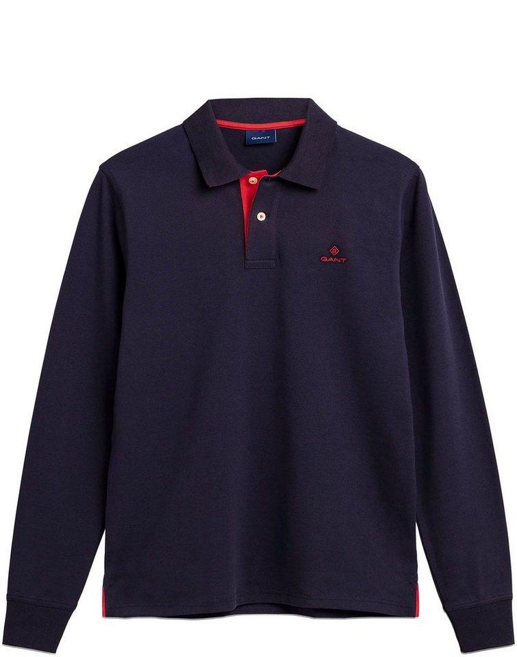 gant -  Langarm-Poloshirt »CONTRAST«