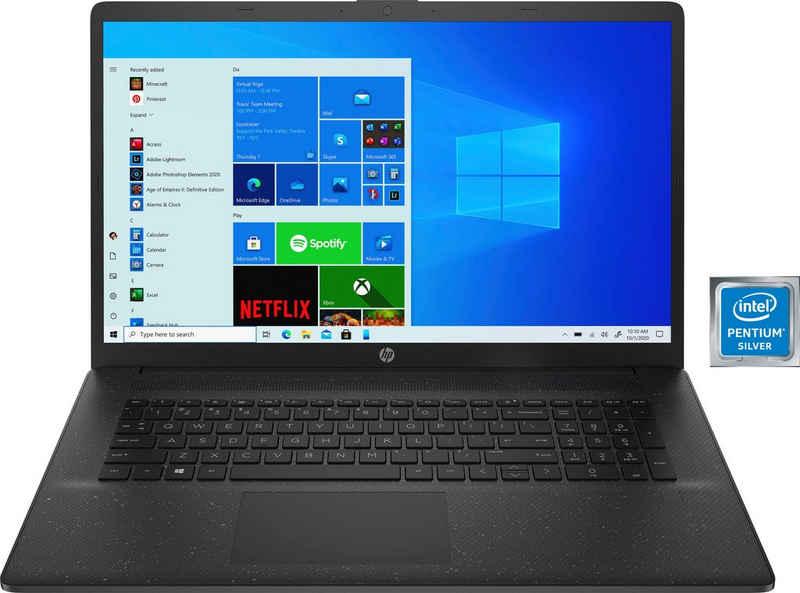 HP 17-cn0212ng Notebook (43,9 cm/17,3 Zoll, Intel Pentium Silber N5030, UHD Graphics 605, 256 GB SSD, Kostenloses Upgrade auf Windows 11, sobald verfügbar)