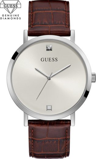 Guess Quarzuhr »GENUINE DIAMOND, GW0009G3«