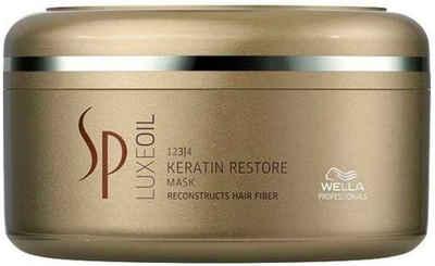 Wella Professionals Haarmaske »SP Luxe Oil Keratin Restore«, aufbauende Pflege