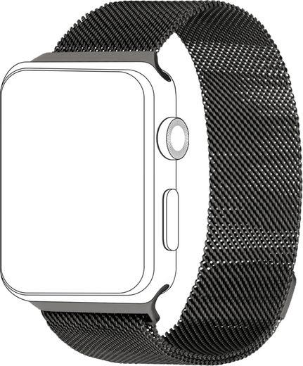 topp Accessoires Ersatz-/Wechselarmband »Mesh für Apple Watch (42/44 mm)«