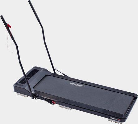Laufband »Laufband CS 2000«, ultraflach, nach dem Training leicht verstaubar - mit 2 Walking Stöcken
