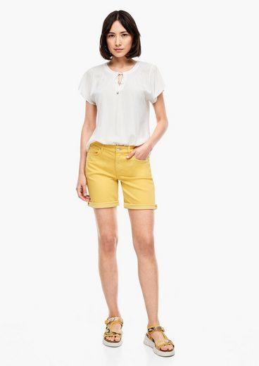 s.Oliver Shorts »Slim Fit: Coloured Denim-Shorts« (1-tlg)