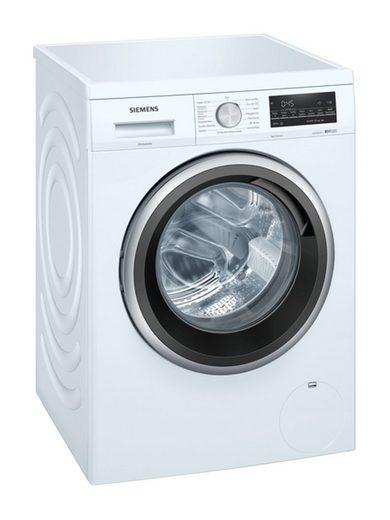 SIEMENS Einbauwaschmaschine WU14UTG0, 8 kg, 1400 U/min, iQdrive-Motor, speedPack L, Outdoor/Imprägnieren-Programm, softTrommel