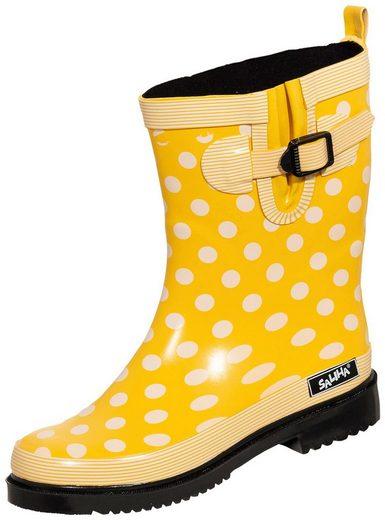 »Damen Regenstiefel Dorin-K gelb/multi« Gummistiefel