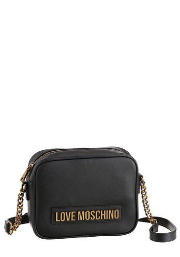 LOVE MOSCHINO Mini Bag, mit goldfarbenen Details