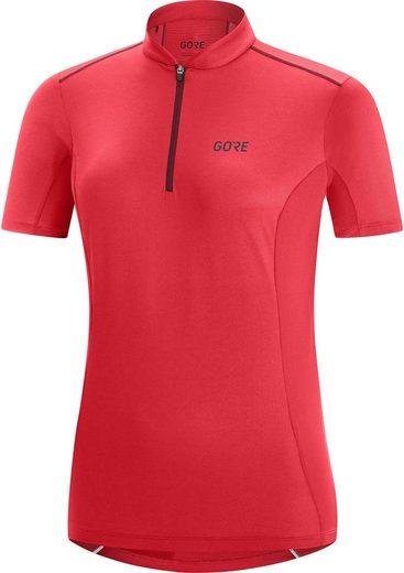 GORE® Wear T-Shirt »C3 Zip Trikot Damen«