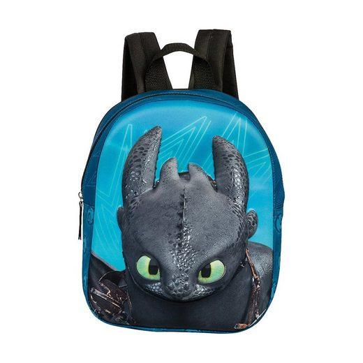 fabrizio® Kindergartentasche »3D-Kinderrucksack Dragons«