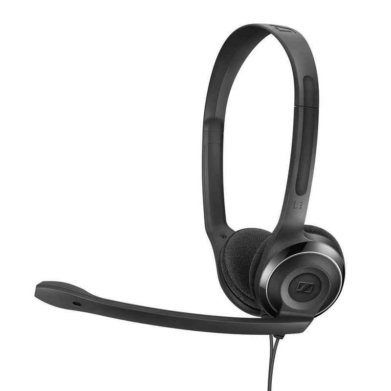 Sennheiser »PC 8 USB« Headset (Kopfhörer, Micro, USB, Mikrofon, Homeoffice, schwarz, Stereo, Bügelkopfhörer)