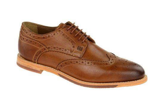 GORDON & BROS »S160479 brown-cognac« Schnürschuh