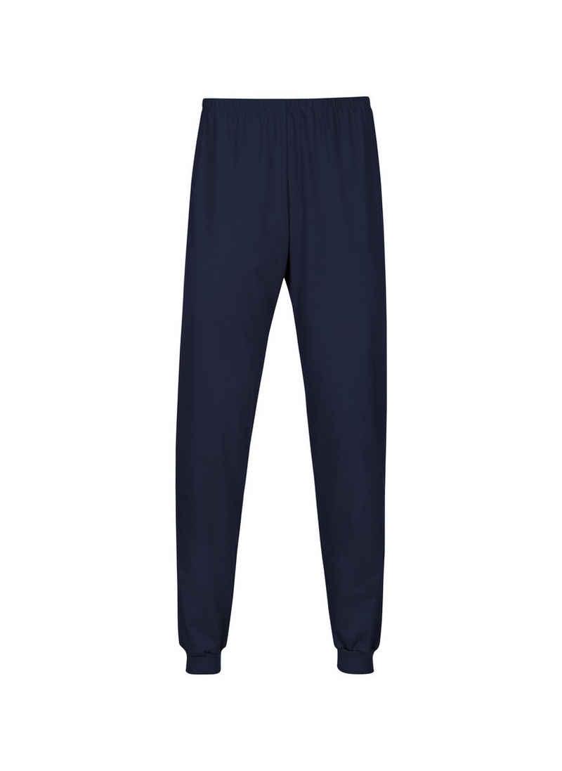 Trigema Pyjamahose (1-tlg) Bündchen
