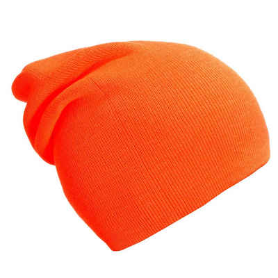 DonDon Beanie »Schlauchmütze Mütze« (Packung, 1-St) Wintermütze, klassischer Slouch-Beanie