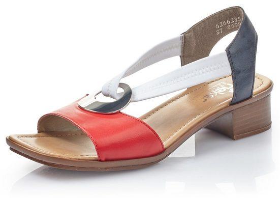 Rieker Sandalette mit Strass-Stein-Verzierung