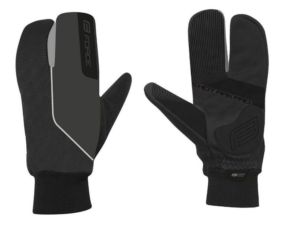 FORCE EXTRA Herren Fahrradhandschuhe Handschuhe Warm Bike Gloves Winter