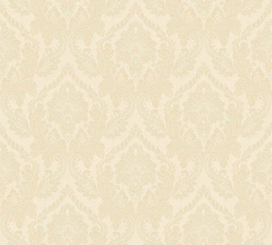 living walls Textiltapete »Di Seta«, samtig, floral, leicht glänzend, metallic, ornamental, (1 St), samtig
