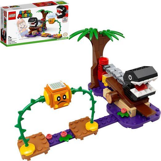 LEGO® Konstruktionsspielsteine »Begegnung mit dem Kettenhund – Erweiterungsset (71381), LEGO® Super Mario«, (160 St), Made in Europe
