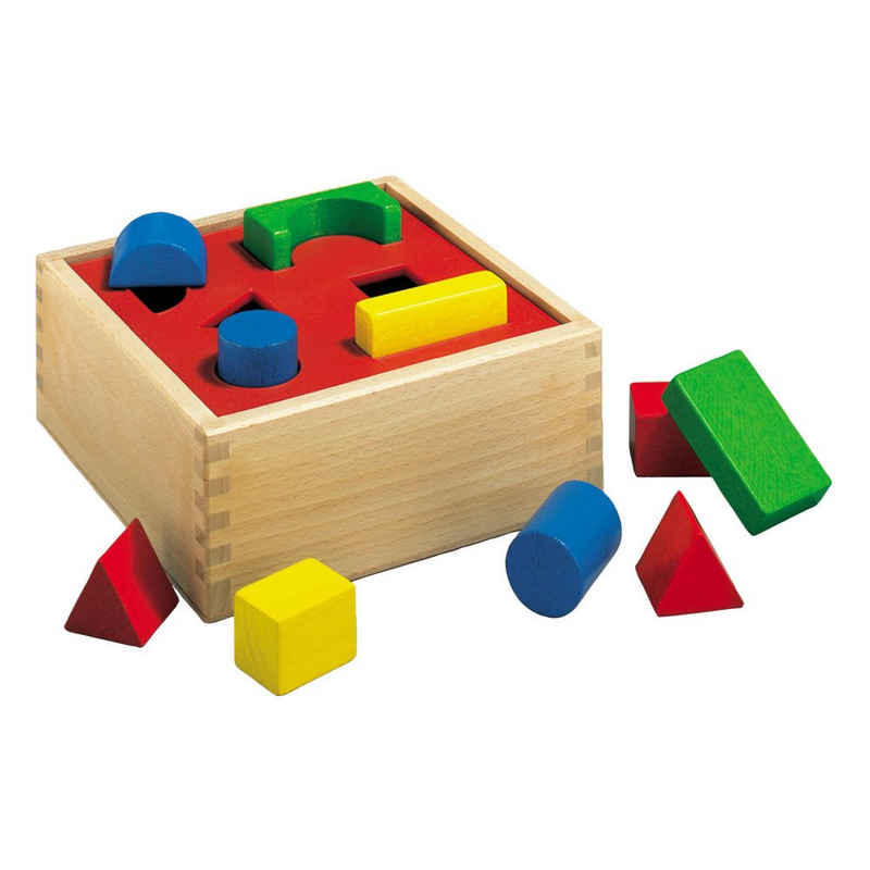 Eichhorn Steckpuzzle »Steckbox ab 2 Jahren«, 10 Puzzleteile