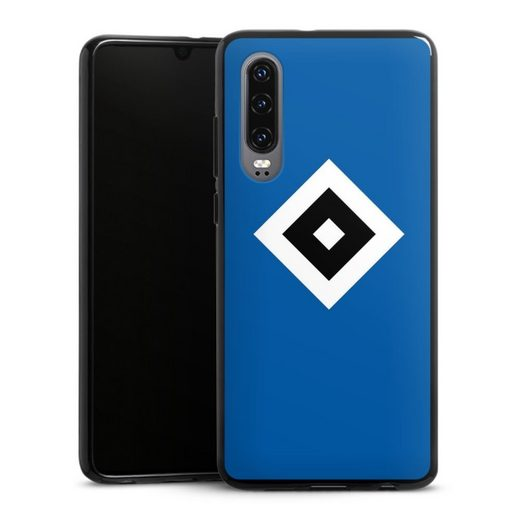 DeinDesign Handyhülle »HSV Blau« Huawei P30, Hülle Hamburger SV Logo HSV