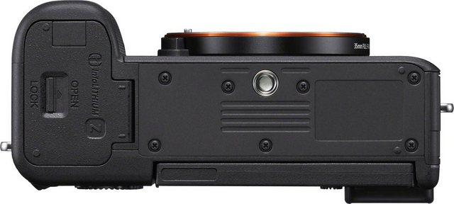 Digitalkameras - Sony »ILCE 7CS Alpha 7C E Mount« Vollformat Digitalkamera (24,2 MP, 4K Video, 7,5cm (3 Zoll) Touch Display, Echtzeit AF, 5 Achsen Bildstabilisierung, NFC, Bluetooth, nur Gehäuse)  - Onlineshop OTTO