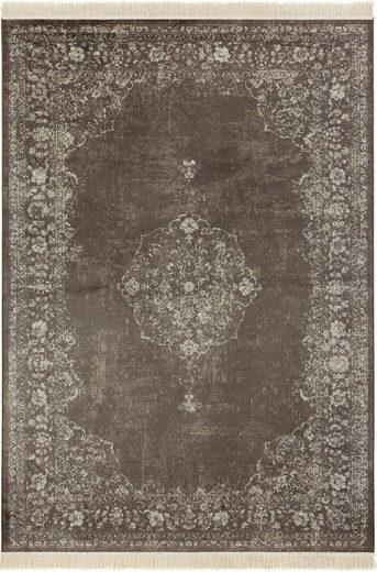 Teppich »Orient Vintage Medaillon«, NOURISTAN, rechteckig, Höhe 5 mm, Wohnzimmer