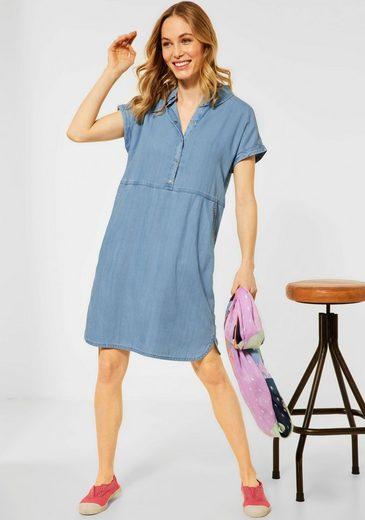 Cecil Hemdblusenkleid mit glänzenden Druckknöpfen