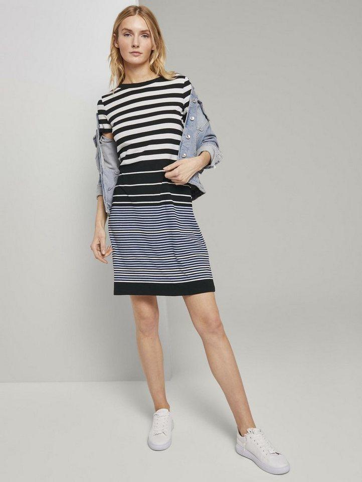 tom tailor -  Jerseykleid »Jerseykleid mit Streifenmuster«