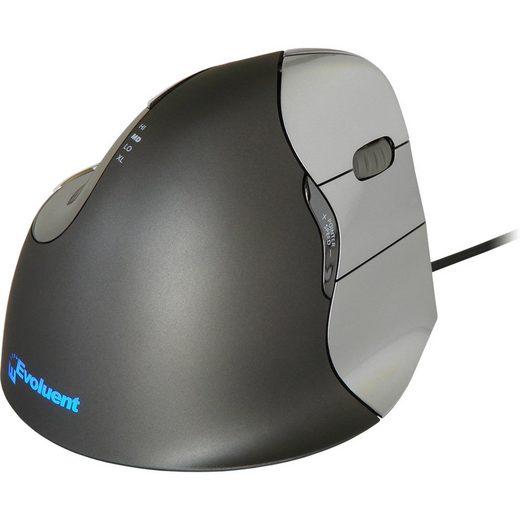 EVOLUENT »Vertical Mouse 4 RH« Maus (Kabel)