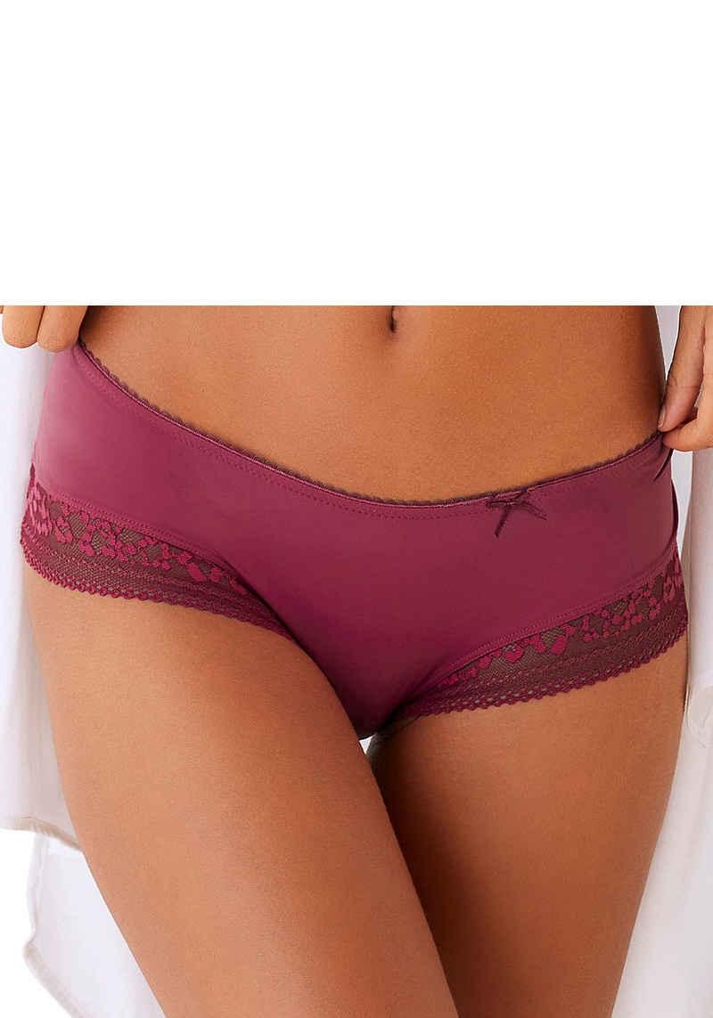 LASCANA Panty »Dilara« mit floralem Beinausschnitt