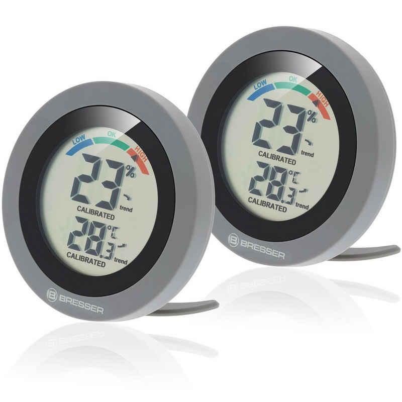 BRESSER »Circuiti Neo digitales Thermo-Hygrometer im 2er-Se« Funkwetterstation