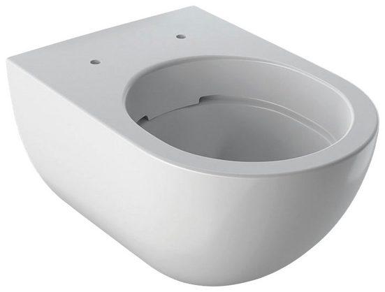 GEBERIT Tiefspül-WC »Acanto«, geschlossene Form, Rimfree, weiß, KeraTect