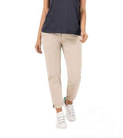 TIMEZONE 7/8-Hose »TIMEZONE Comfort Cira 7/8-Hose modische Damen Chino-Hose mit Reißverschluss Freizeit-Hose Beige«