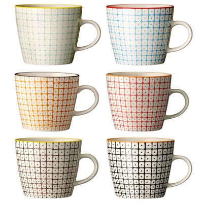 Bloomingville Tasse »Tassen Carla 300 ml 6 er Set«, Keramik