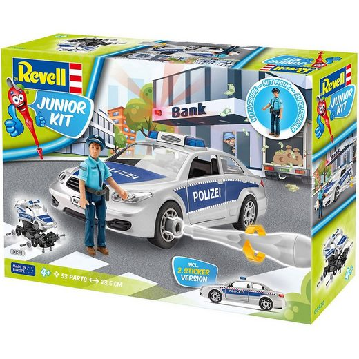 Revell® Modellbausatz »Revell Junior Kit - Polizei mit Figur«