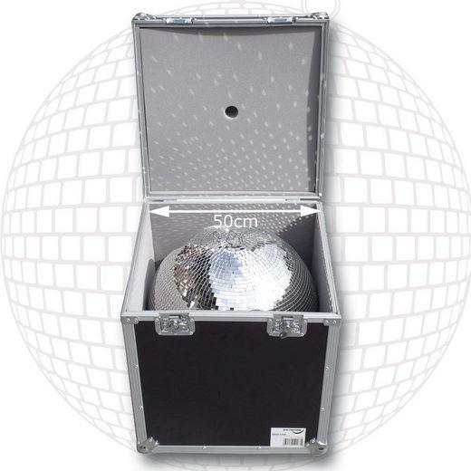 SATISFIRE Discolicht »Flightcase für 50cm Spiegelkugel - Transportkiste Discokugel Sicherer Transport und Lagerung SATISFIRE®«