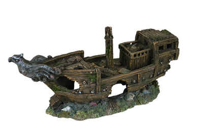 TRIXIE Aquariendeko »Schiffswrack«, 32 cm lang