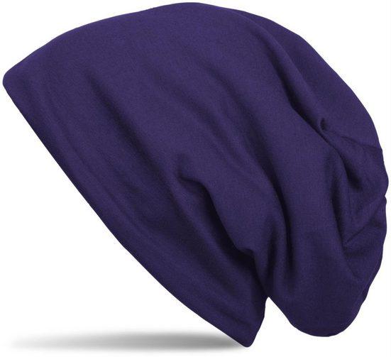styleBREAKER Beanie »Unifarbene Beanie Mütze mit Fleece«