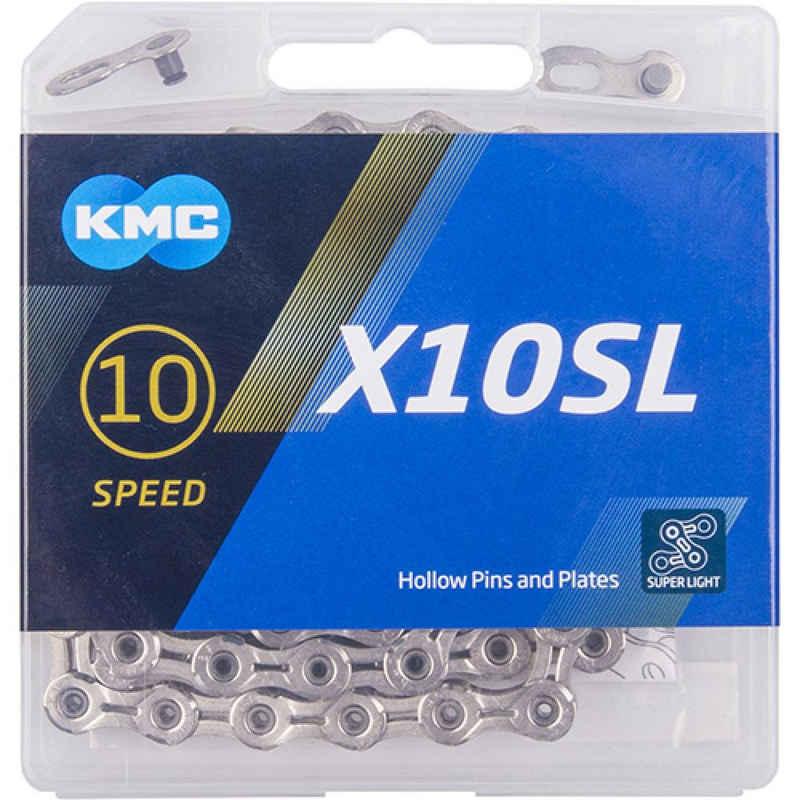 KMC Fahrradketten »Schaltungskette KMC X10SL silber 1/2' x 11/128', 1«