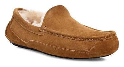 UGG »Ascot« Hausschuh mit fester Laufsohle