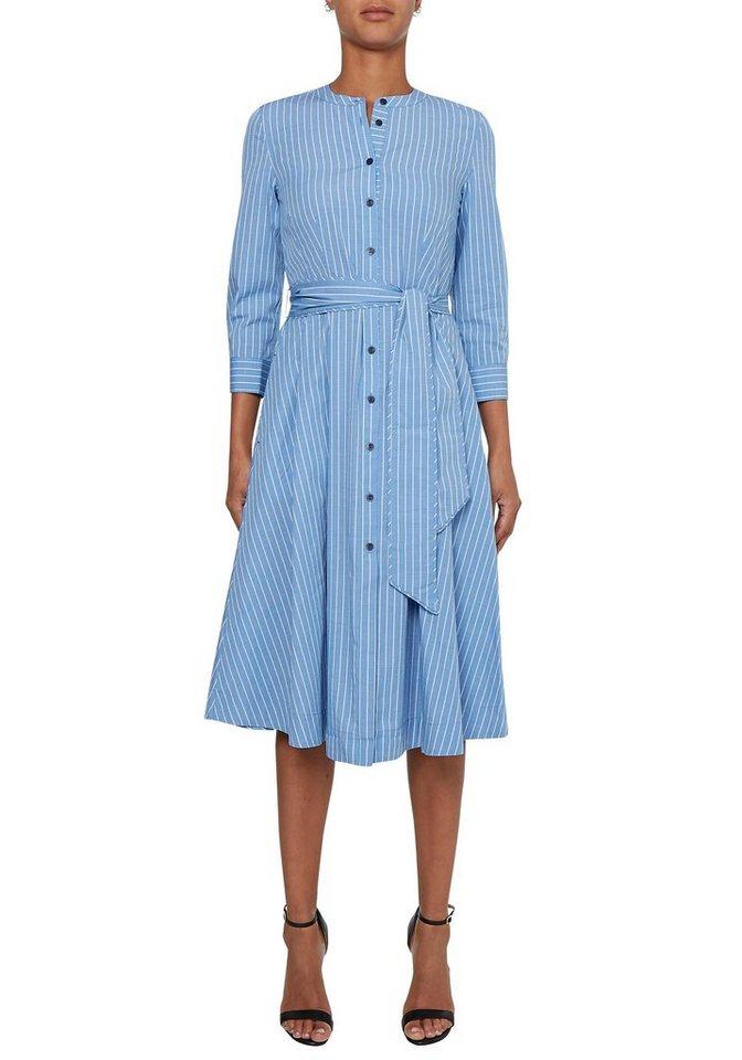 Tommy Hilfiger Blusenkleid Y D Cot Shirt Midi Dress 7 8 Slv Mit Durchgehender Knopfleiste Bindegurtel Online Kaufen Otto