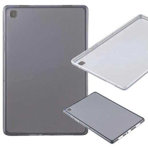 Wigento Tablet-Hülle »Für Samsung Galaxy Tab A7 T500 / T505 2020 Transparent Tablet Tasche Hülle Case TPU Silikon dünn«