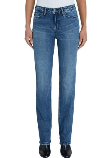 TOMMY HILFIGER Straight-Jeans »ROME STRAIGHT RW ALI« mitTommy Hilfiger Logo-Badge