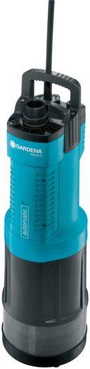 GARDENA Tauchdruckpumpe »6000/5 automatic, 1476-20«, 6000 l/h max. Fördermenge