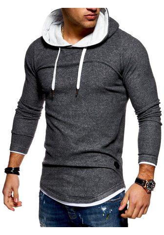 behype Sportinis megztinis su gobtuvu »LAYER«...