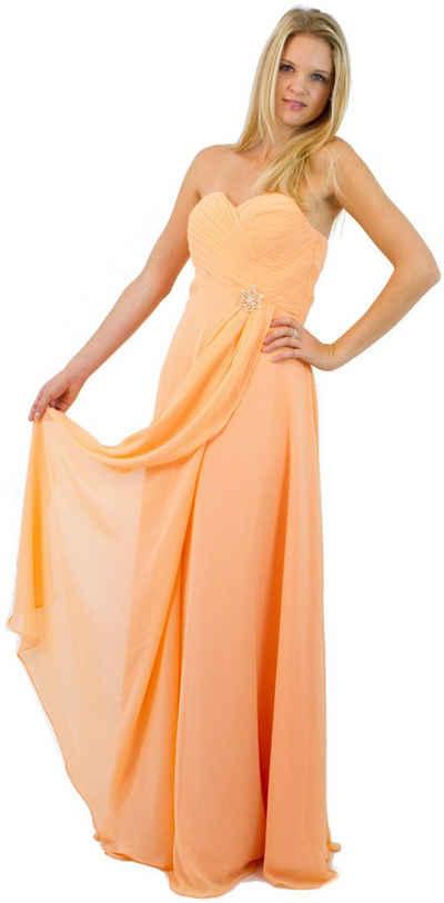 AvaMia Abendkleid »AvaMia-Kleid-3408 Festliches Chiffon Abendkleid, Chiffonkleid, langes Kleid« Festliches Chiffon Abendkleid, Chiffonkleid, langes Kleid