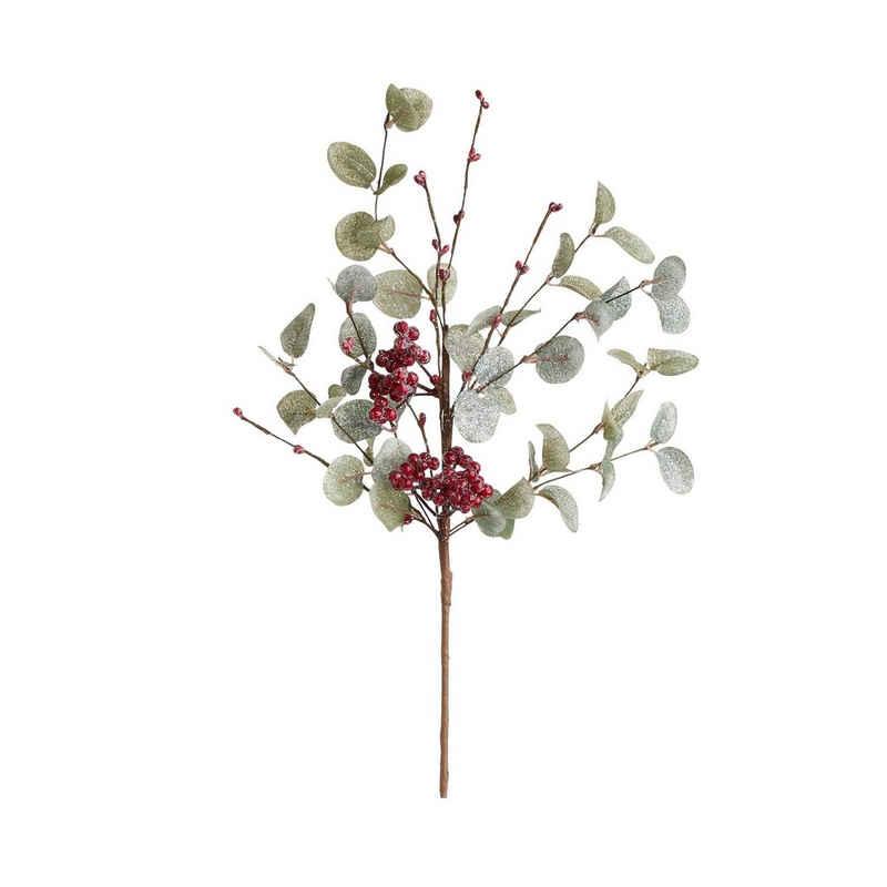 Kunstblume »FLORISTA Eukalyptuszweig mit Beeren Länge 45cm«, BUTLERS, Höhe 0 cm