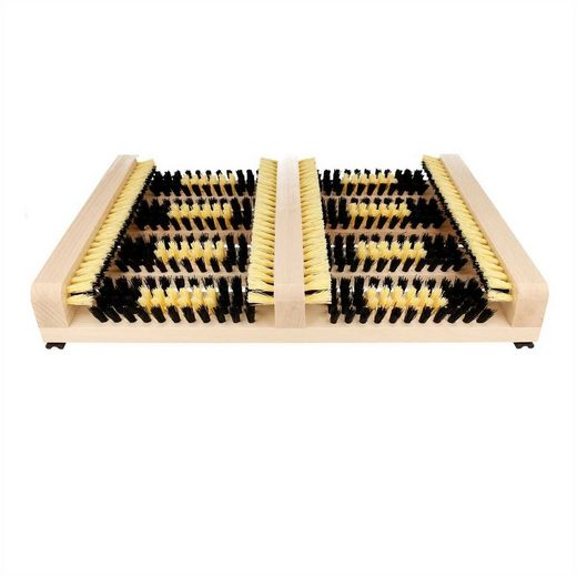 Lantelme Schuhabtropfschale »Schuhabtreter Holz in naturfarben« (1-tlg), aus Holz rutschfest