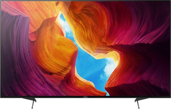 Sony KD-55XH9505 LCD-LED Fernseher (139 cm/55 Zoll, 4K Ultra HD, Android TV, Smart-TV)