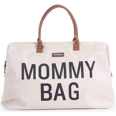 CHILDHOME Wickeltasche »Wickeltasche Mommy Bag, altweiß/schwarz«