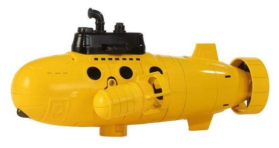 Happy People RC-Boot »RC Unterwasser Boot«, Funkferngesteuertes U-Boot, 26 cm, Frequenz Funkfernsteuerung 27MHz, Gelb, fernsteuerbares Unterseeboot, mit Licht, Batteriebetrieben